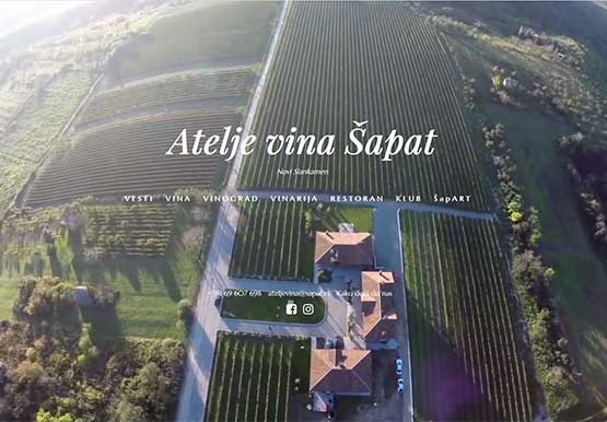 Creating Web site for a Winery Shapat